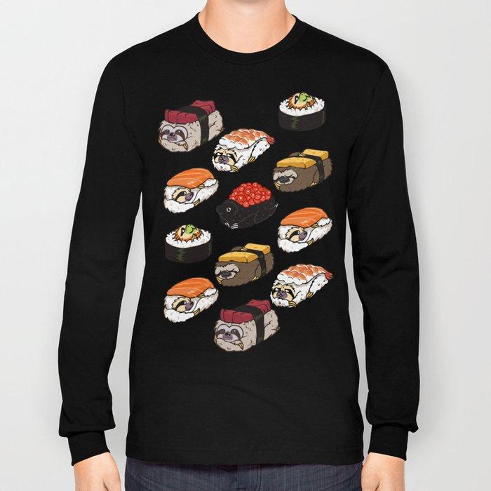 Sushi Sloth Long Sleeve T-shirt
