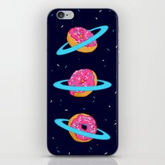 Sugar rings of Saturn iPhone Skin