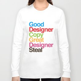 Pablo Picasso Adopted Long Sleeve T-shirt