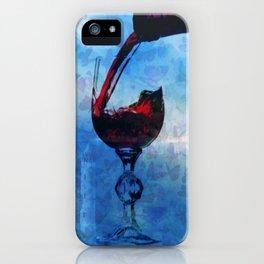 Castle Lepidoptera & Wine iPhone Case