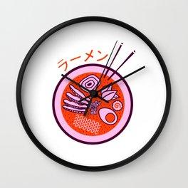 Ramen Forever Wall Clock