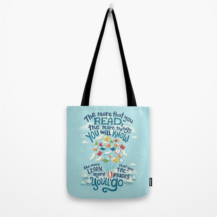 Go places Tote Bag