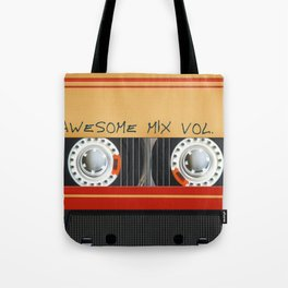 Awesome Mix Cassette Vol.1 Tote Bag