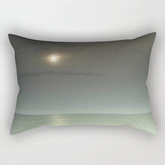 Mistery beach. Rectangular Pillow