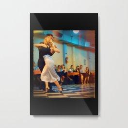 Argentine Tango in Buenos Aires Milonga Sin Rumbo Lomographic Photo Metal Print