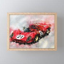 330 P4 Framed Mini Art Print