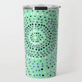 Dots- aboriginal Travel Mug