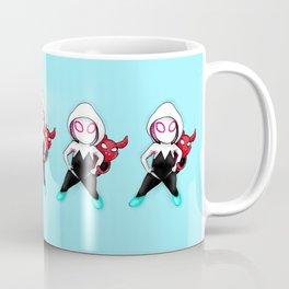 Spider-Gwen and Spider-Ham Coffee Mug