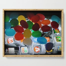 candy crush Serving Tray