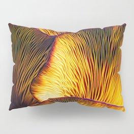 Chanterelles Abstract Mushrooms Pillow Sham