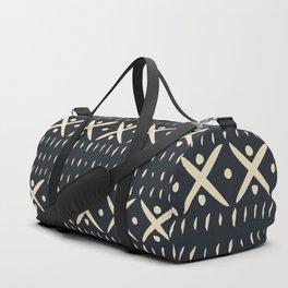 ADOBO MUDCLOTH DARK Duffle Bag