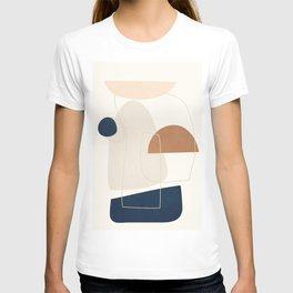 Spiraling Geometry 4 T-shirt