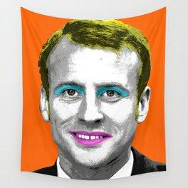 Marilyn Macron - Orange Wall Tapestry