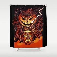 Halloween Pumpkin King (Lord O' Lanterns) Shower Curtain