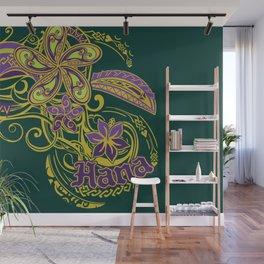 Hana Maui Tribal Threads Wall Mural