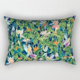 Emerald Fairy Forest Rectangular Pillow