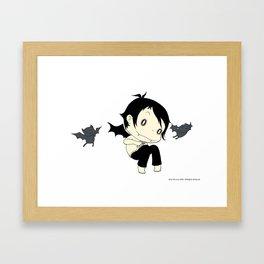 JMM - Jager With the Bats Framed Art Print