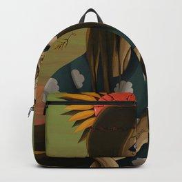 EYES MADE OF SKY Backpack