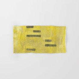 Stasis Gray & Gold 3 Hand & Bath Towel