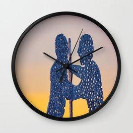 Berlin Molecule Men Wall Clock