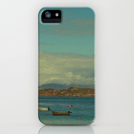 The Isle of Iona in Sunny May iPhone Case