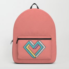 le coeur impossible (nº 2) Backpack