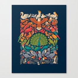 Aerial Spectrum : Blue Canvas Print