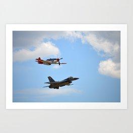 Flight of Remembrance Art Print