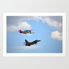 Flight of Remembrance Art Print