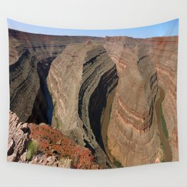The Goosnecks - A Meander Of The San Juan River Wall Tapestry