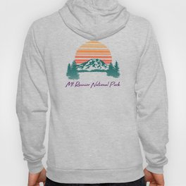 Mount Rainier National Park Hoody