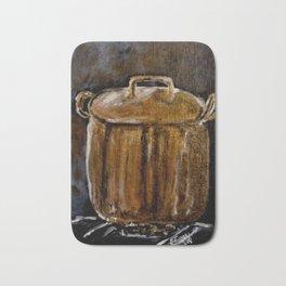 Old Copper Pot Bath Mat