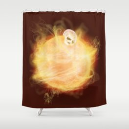 Lost in a Space / Sunlion Shower Curtain