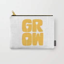 Grow Typography Carry-All Pouch