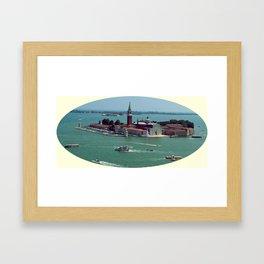 San Giorgio Maggiore. Venice. Framed Art Print