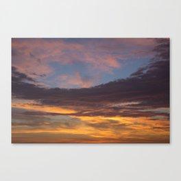 Sky on Fire. Canvas Print
