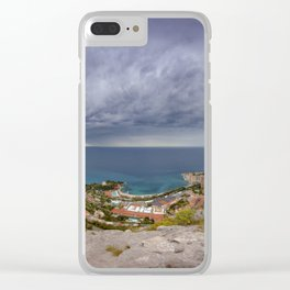 Monte Carlo Clear iPhone Case