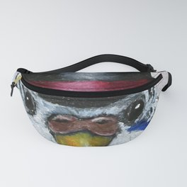 Parakeet Hat Parade #7 Brock Fanny Pack