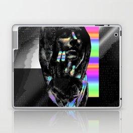 Glitchy pray Laptop & iPad Skin