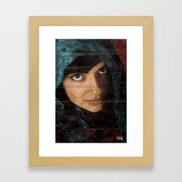 Fyza Framed Art Print