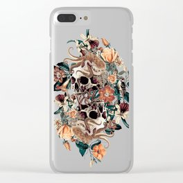 Fantasy Skull Clear iPhone Case