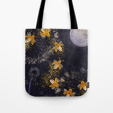 Dance of the Fireflies Tote Bag