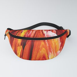 Volcanic Creativity 3-D Abstract Fanny Pack