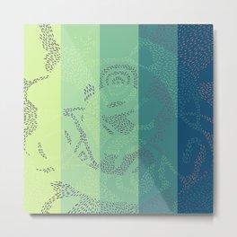 Swirl. Metal Print