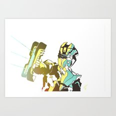 Dead Space Color V2 Art Print