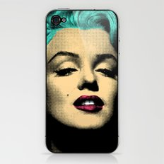 MARILYN BLUE iPhone & iPod Skin