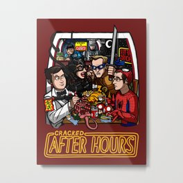 After Hours: The Shirt Metal Print