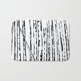 Nature's Barcode Bath Mat