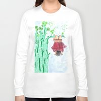 let it go Long Sleeve T-shirts featuring LET GO! by Pritika Mathur