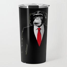 Domesticated Monkey Travel Mug